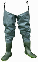 Shakespeare Sigma Nylon Hip Wader Cleated Sole Fly Fishing Wader - All Sizes
