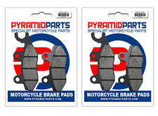 Front & Rear Brake Pads (2 Pairs) for Kymco 150 Quannon 2010