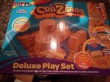 NEW CraZSand Deluxe Sand Play Set Indoor Outdoor Play NIB By CraZArt