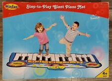 Step To Play Giant Piano Mat Children's Musical Fun Toy Win