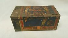 VERY EARLY STEPHANO BROS RAMESES II CIGARETTE PIPE TOBACCO TIN VINTAGE