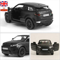 1:36 RMZ City Car Evoque Range Rover SUV Alloy Diecasts Model Vehicles Toys