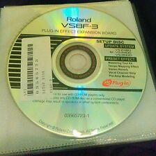 VS8F-3 Genuine NEW REAL Roland Factory Plug in disc CD VS2480 VS2400cd VS2000CD