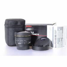 Sigma EX DG 8mm F/3.5 DG Fish-Eye Objektiv für Nikon - 3,5/8 DG EX Fisheye