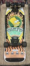 "1990 Bart Simpson Skateboard ""Vehicle of Destruction"""