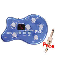 New MOOER POGO Portable Guitar Effect Pedal Multi-Effects Processor PEDAL