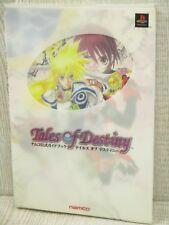 TALES OF DESTINY Namco Official Guide SFC Book NM*