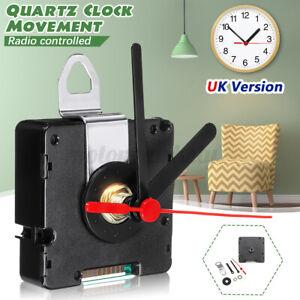 UK MSF Time Atomic Radio Controlled Silent Clock Movement Mechanism Kit