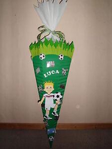 Coole Schultüte für Jungs/Fußball/Wunschmotive