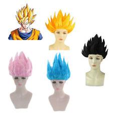 Pelucas De Dragon Ball Goku Super Saiyan Pelo Corto Estilo Cosplay Disfraz Niño Adulto