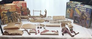 1973 1974 Addar Planet of the Apes Model Kits General Aldo Caesar Dr Zira Ursus