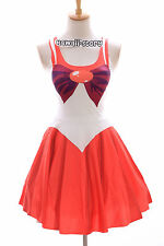 sk-04 Taille S-M Sailor Moon Mars rouge robe cosplay manga japon anime