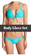 NWT Body Glove Smoothies Baby Love Bikini Top + Brasilia Bottoms [SZ XS] #1023