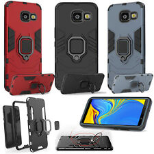 Samsung Galaxy J4 Plus Hybrid 360° Ring Holder Stand Slim Car Mount Case Cover
