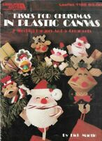 Kisses for Christmas in Plastic Canvas Leisure Arts 1198 Stocking Hangers & More