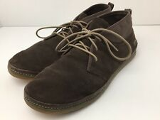 Simple Shoes Mens Chukka Boots US 13 Brown Suede Leather Walking Lace Up 2204