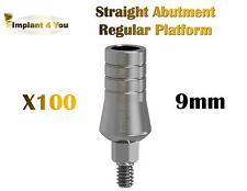X100 Straight Abutment Original Regular Platform For Dental Implant Dentist Lab