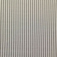 MAGNOLIA HOME POLO STORM GRAY STRIPE COTTON CURTAIN FABRIC BTY 31A3