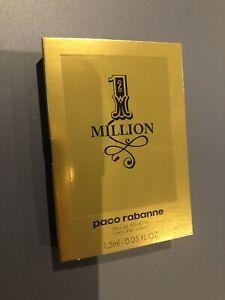 Paco Rabanne 1 Million EDT SAMPLE SIZE 1.5ml