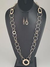 Gold Chain FASHION Necklace Set