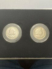 2 coin set of 1892 & 1893 US Columbian Exposition Half Dollar