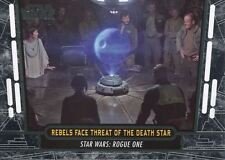 Star Wars 40th Anniversary Base Card #60 Rebels Face Threat of the Death Star