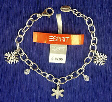 Esprit Damen Armband UVP-69,90 € NEU ESBR 90885, 925 Sterlingsilber, 18 cm,