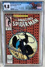 Amazing Spider-man # 300 CGC 9.8 Stan Lee,Todd Mcfarlane 1st Venom, 252 Black