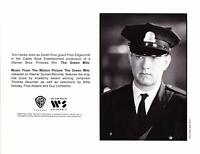 Vintage Paul Edgecomb Tom Hanks in The Green Mile 1999 Movie Promo Photograph