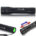 Tactical Focus 20000LM 3 Modes 18650 Flashlight T6 LED Zoomable Camping Torch