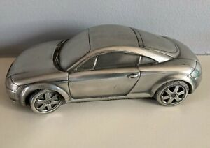 Compulsion Gallery - Rare AUDI TT Pewter Sculpture 1:18 scale Racing Car model