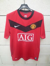 Maillot MANCHESTER UNITED 2010 NIKE shirt home vintage football S