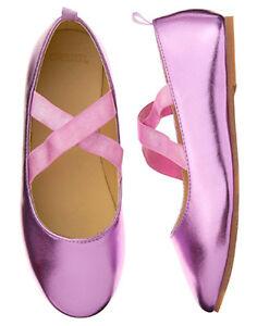 NWT Gymboree Prima Ballerina Ballet Flats Dress Shoes toddler Girls 4,5,6,7