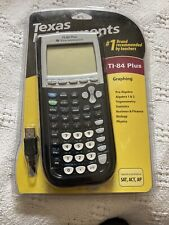 1st Edition Texas Instruments Ti-84 Plus Black Graphing Calculator New See Photo