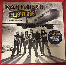 Iron Maiden Flight 666 Soundtrack double vinyl Picture Disc LIMITED NM+ Metal