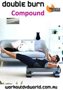 Body Sculpting Weights DVD - Barlates Body Blitz Double Burn Compound Workout
