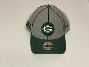 Green Bay Packers New Era 39THIRTY NFL Hat Adult Size M/L