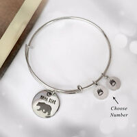 MAMA BEAR Bracelet with PAWS Choice Mother's Day Mom Mom's Birthday GIFT US