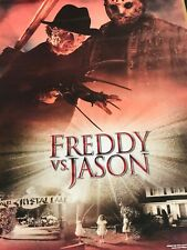 Freddy vs Jason Movie Poster #908