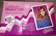 Richard Caruso Molecular Hairsetter Curlers Rollers 3-Way Traveler Vtg 80's Box