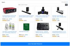 Amazon Ecommerce Dropship Web Ad Page Affiliate No Hosting Referral Site Bogo