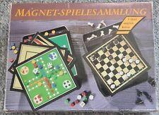 Magnetspielesammlung mit 9 Spielemöglichkeiten Eduscho Reisespiel