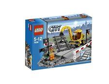 LEGO® CITY 7936 Bahnübergang - NEU / OVP