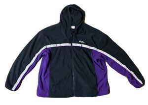 FedEx Fleece Jacket Men's Purple Navy Black VF Imagewear  Size XXL