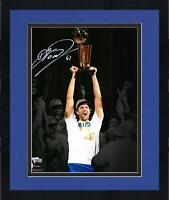 "Frmd Dirk Nowitzki Dallas Mavericks Signed 11"" x 14"" 2011 Finals Spotlight Photo"