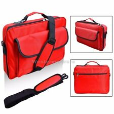 "Red Laptop Case Shoulder Messenger Bag 10.1"" 11.6"" 12.5"" 13.3"" 14"" for Women"