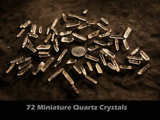 Sale Lot 4A-50 miniature crystals by the point