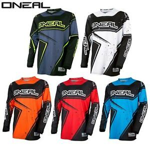 ONeal Element MX Jersey Racewear Trikot Moto Cross Enduro ATV Motorrad Shirt MTB