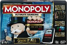 """Monopoly Ultimate Banking Board Game """"Free Shipping"""""""