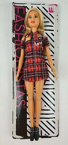 Barbie Fashionista 113 Plaid Dress Doll loose